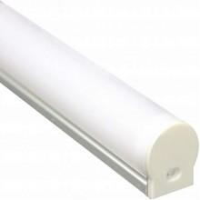 """Профиль для светодиодной ленты Feron CAB282 """"круглый узкий""""серебро 10301"""