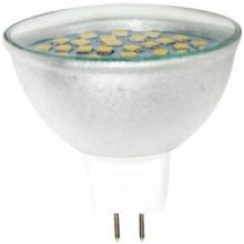 Лампа светодиодная Feron LB-26 36LED (7W) 230V G5.3 2700K MR16 прозрачная