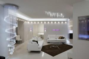 Светодиодное освещение - прекрасный элемент дизайна любого помещения