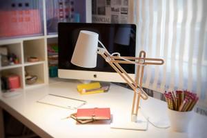 Настольная лампа: история происхождения