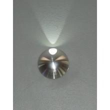 Светильник светодиодный для подсветки встраиваемый в стену Flesi FL55JJ-CW ф60 мм 1Вт 6000К AC100-240V
