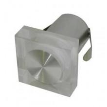 Светильник светодиодный в стену Flesi FL55SH-SP 1*1W CREE XP-E, 220V/1W, 50-60Hz, 100-240VAC,ф55х55мм