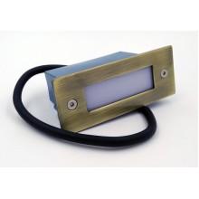 Подсветка светодиодная встраиваемая Светкомплект G 03003 АВ 1W 4100К 111*42мм IP54