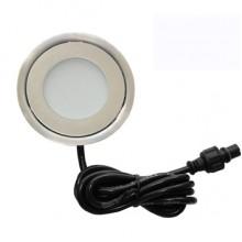 Светильник светодиодный для подсветки встраиваемый в пол Flesi SC-B101B 58*H9mm, 0.42W, DC12V, IP67