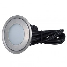 Светильник светодиодный для подсветки встраиваемый в пол Flesi SC-B101C(Indoor) RGB 58*H9mm, 0.7W, DC12V, IP54