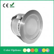 Светильник светодиодный для подсветки встраиваемый в пол Flesi SC-B105B ф30*H18.5mm, 0.07W, DC12V, IP67