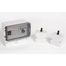 Настенный регулятор скорости вращения лопастей с датчиком температуры накладной Vortice Vort Delta, белый с черным, 6A, IP54 13039VRT