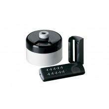 Пульт дистанционного управления для люстр с нереверсивным вентилятором Vortice Telenordik, черный с белым 22387VRT