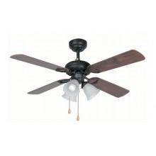 Люстра с вентилятором Faro Lisboa 33102FAR коричневый
