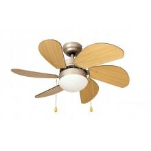 Люстра с вентилятором Dreamfan Smart 76 матовый никель