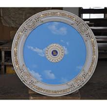 Панно 90RD-022 AWT круглое белый антик PS