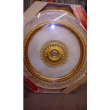 Панно 15RDL-052 ABRO круглое бронза антик (ручная покраска)