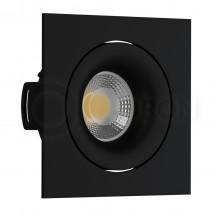 Светильник встраиваемый LeDron DE 201 Black GU10 50 Вт Черный