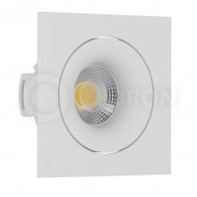 Светильник встраиваемый LeDron DE 201 White GU10 50 Вт Белый