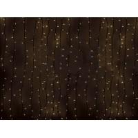 Световая гирлянда-дождь ПЛЕЙ-ЛАЙТ с динамикой 2х6м, прозрачные лампы