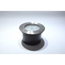 Встраиваемый подводный  светодиодный светильник B4Y0A606-6x3W-WW-30-24V-IP68 симметричный теплый