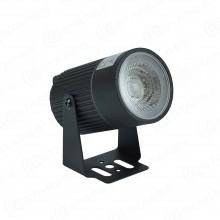 Светильник светодиодный архитектурный MS-SLS-K101A 8W R-GREEN-60-BLACK-220-IP65 зеленый