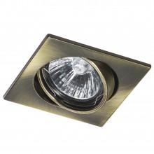 Светильник Lightstar 011941 Lega 16 Зеленая бронза