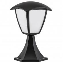 Фонарь уличный Lightstar 375970 Lampione 8 Вт 360Lm 3000K Черный