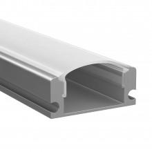 Профиль Lightstar 409429 PROFILED с прямоугольн. рассеив-м д/светодиод. лент, материал: алюминий,1шт=2м