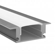 Профиль Lightstar 409529 PROFILED с прямоугольн. рассеив-м д/светодиод. лент, материал: алюминий,1шт=2м