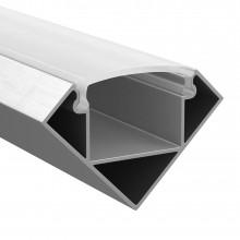 Профиль Lightstar 409629 PROFILED с полукругл. рассеив-м д/светодиод. лент, материал: алюм., 1шт=2м