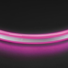 Лента гибкая неоновая Lightstar 430109 NEOLED 220V 120LED/m 6-7Lm/Chip 9,6W/m, 50m/reel розовый цвет IP65