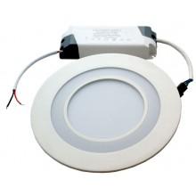 Светодиодный встраиваемый ультратонкий светильник Светкомплект RDL 18 белый 4500К