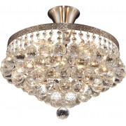 Люстра потолочная Vivien TL7230X-05SN Toplight матовый никель