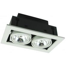 Точечный светильник Arte Lamp A5930PL-2WH