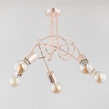 Люстра в стиле Лофт Alfa Tango Copper 24325 медный