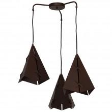 Светильник подвесной Luminex Conall 5529 коричневый