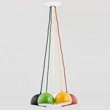 Люстра подвесная Alfa Rewia 60160 разноцветный