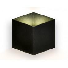 Настенный светодиодный светильник FW140 BK/S черный/песок LED 4200K 10W 170*150*90
