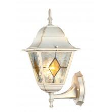 Бра уличное Arte Lamp A1011AL-1WG бело-золотой