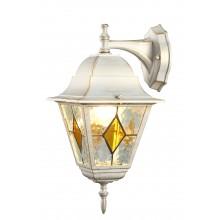 Бра уличное Arte Lamp A1012AL-1WG бело-золотой