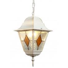 Светильник уличный Arte Lamp A1015SO-1WG бело-золотой