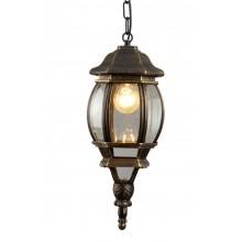 Светильник уличный Arte Lamp A1045SO-1BN черно-золотой