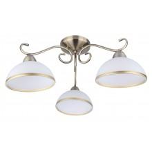 Люстра потолочная Arte Lamp A1221PL-3AB античная бронза