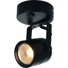 Светильник спот с выключателем Arte Lamp A1310AP-1BK черный