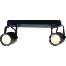 Светильник спот Arte Lamp A1310PL-2BK черный