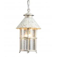 Светильник уличный Arte Lamp A1465SO-1WG бело-золотой