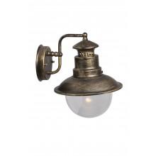 Бра уличное Arte Lamp A1523AL-1BN черно-золотой