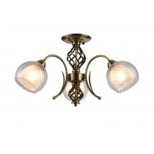 Люстра потолочная Arte Lamp A1607PL-3AB античная бронза