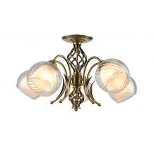 Люстра потолочная Arte Lamp A1607PL-5AB античная бронза