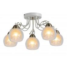 Люстра потолочная Arte Lamp A1633PL-5WG бело-золотой