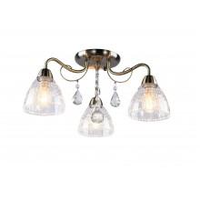 Люстра потолочная Arte Lamp A1658PL-3AB античная бронза