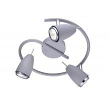 Светильник спот Arte Lamp A1966PL-3GY серый