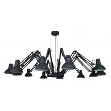 Люстра в стиле Лофт Arte Lamp A2043SP-12BK черный