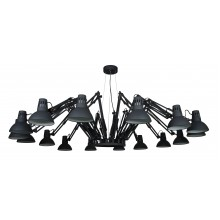 Люстра в стиле Лофт Arte Lamp A2043SP-16BK черный